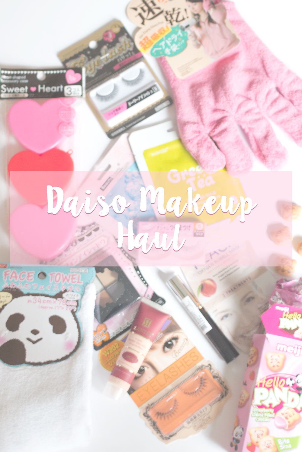 Daiso Makeup Haul & Mini Reviews